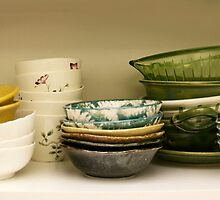 Bowls..... in many colors.... by Brenda Dow