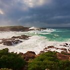 Stormy Morning in Anna Bay by Anthony Edwards