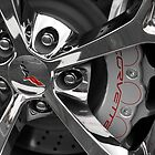 Corvette Wheel by dlhedberg