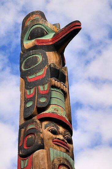 Totem Pole by Bob Hortman