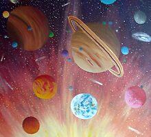 Solar system by Jazmine Saunders