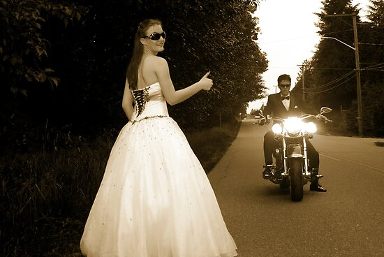 I Can Harley wait to get to PROM!! by Sheri Bawtinheimer