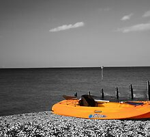 Yellow Canoe by Dave Godden