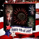 Happy 4Th Of July by Rick  Friedle