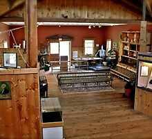 South County Museum - In The Barn - Narragansett, Rhode Island by Jack McCabe