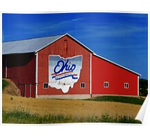 Ohio Bicentennial Barn Poster