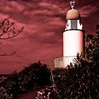 Port Meirion Lighthouse by Lazertooth