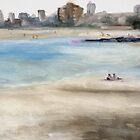 Heatwave, St Kilda Beach, Melbourne by alstrangeways