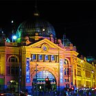 Flinders st Station by Mark B Williams