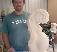 Beginners Sculpture Workshop: Student by Richard Kloester