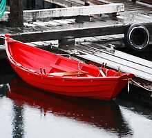 The Red Rowboat by Jennifer Hulbert-Hortman