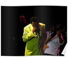 2011 MBBF Bobby Rush Plays Harmonica Poster