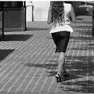 Street Walker by Chet  King
