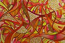 Abstract Tangerine by MelDavies