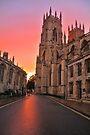 A Minster Sunset by Mat Robinson