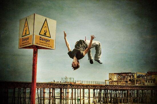 Danger, stuff, falling by Nicola Smith