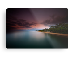 Dusk at Scarness Metal Print