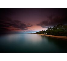 Dusk at Scarness Photographic Print