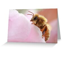 Honey Bee Break Greeting Card