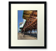 St. Annes Pier - Lytham Framed Print