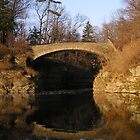 Sackett Footbridge, Beebe Lake, Cornell by Mark  Reep