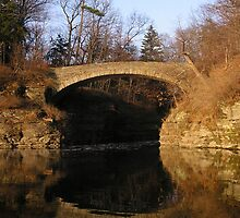Sackett Footbridge, Beebe Lake, Cornell by Mark  Reep