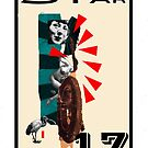 Dada Tarot-The Star by Peter Simpson