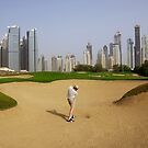 Emirates Golf Club by Helen Shippey