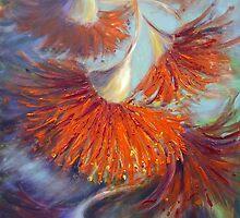 Dancing gumnuts by Ivana Pinaffo