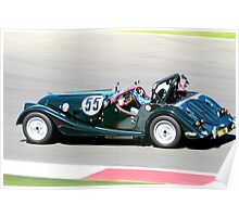 Morgan Plus 8 (Kathy Sherry) Poster