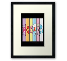 Cutie Mark Collection Framed Print