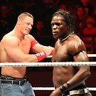 WWE 2011 - John Cena (and R-Truth) by xTRIGx