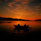 Greeting the Morn - Narrabeen Lakes, Sydney Australia - The HDR Experience by Philip Johnson