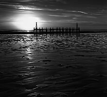 Without Pier 02, St Annes on Sea, Lancashire, UK by Simon Lupton