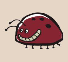 smiling ladybug by greendeer