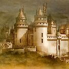 Chateau De Pierrefonds by Dale Stillman