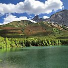 Wedge Pond -  Bow Valley Provincial Park by Teresa Zieba