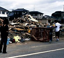After Tokyo Electric Power Company nuclear accident by Masa.Ado. HIGASHI