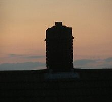 Sunset for a chimney sweep by musebug