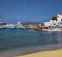 Arriving  in Mykonos by John44