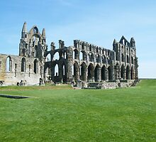 whitby abbey portrait by Alice Thorpe