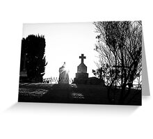 Eternal Rest - As The Sun Goes Down- Greeting Card