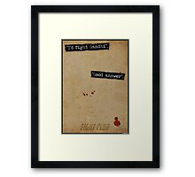 Good Answer Framed Print