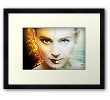 Dissembling - Welcome to the Dark Side Framed Print