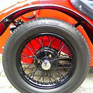 Avon Tyre on Austin Seven Sports 1935 by ©The Creative  Minds