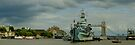 HMS Belfast Panorama by Themis
