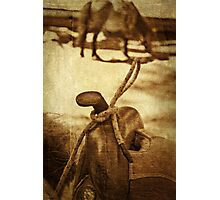 Saddle Photographic Print
