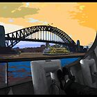 Sydney Harbour Bridge by Benjamin Whealing