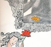 Buddha and I by Satroopini
