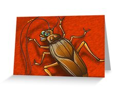 Sexy Cockroach Greeting Card